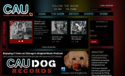 Chicago Acoustic Underground Podcast Episode